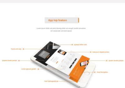 Mobile App Website